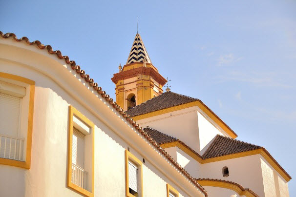 Kirche in Andalusien