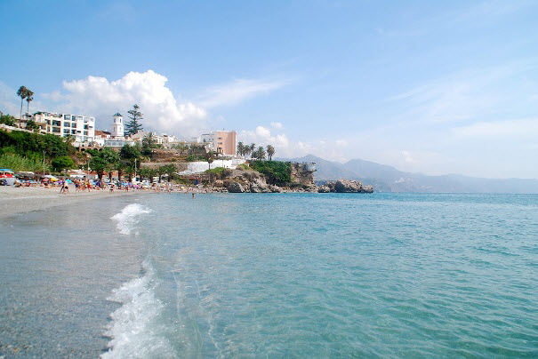 Nerja in Andalusien